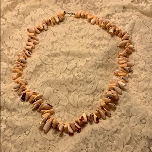 Vintage Miriam Haskell Shell Necklace